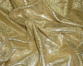 """Leather 12""""x12"""" Silver Stripes on Curry BAMBOO Cowhide 2 oz / .8 mm PeggySueAlso"""