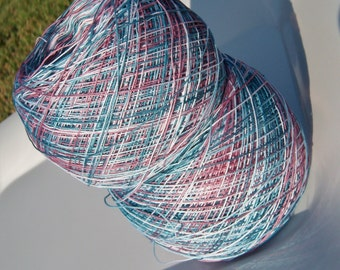 Lizbeth Tatting Thread -  Hand Dyed - Size 20 or 40 - Casual Friday - Your Choice of Length