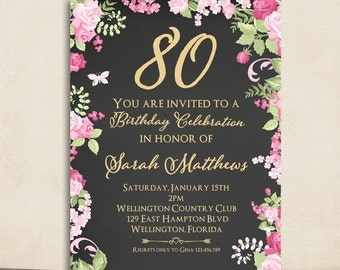 40Th Invitation Wording with amazing invitations example