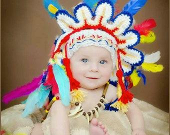 Indian Headdress Crochet Pattern