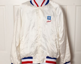 Vintage Jacket - GM Proud - red white blue