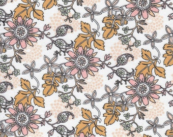 Cloud9 Organic Fabrics - Miscellany - Antique Flower 1/2 YD