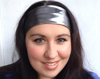 Metallic Silver Headband