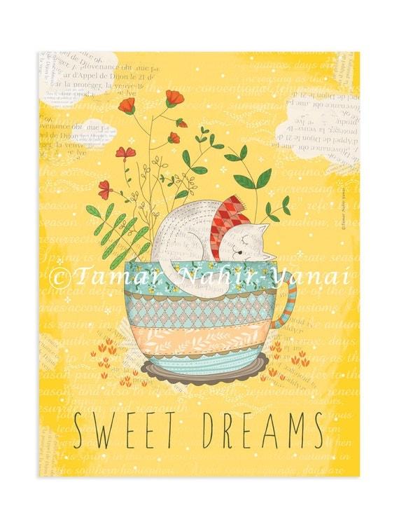 Original Art Print – Sweet Dreams