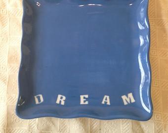 Sassy Square Plate - DREAM