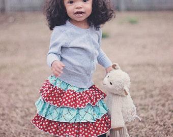 Baby Amanda's Triple Ruffle Skirt  PDF Pattern size newborn to 18/24 mos