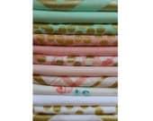 Michael Miller Great Glitz Bundle - Fat Quarters and Standard Quarters - 12 fabrics