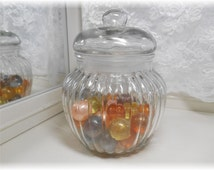 Vintage Bath Oil Beads Canister