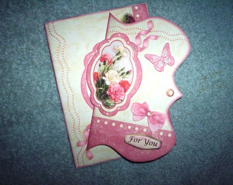 Carnations for you birthday card