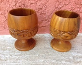 wood chalices