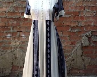 Vintage 1970s Hippie Dress