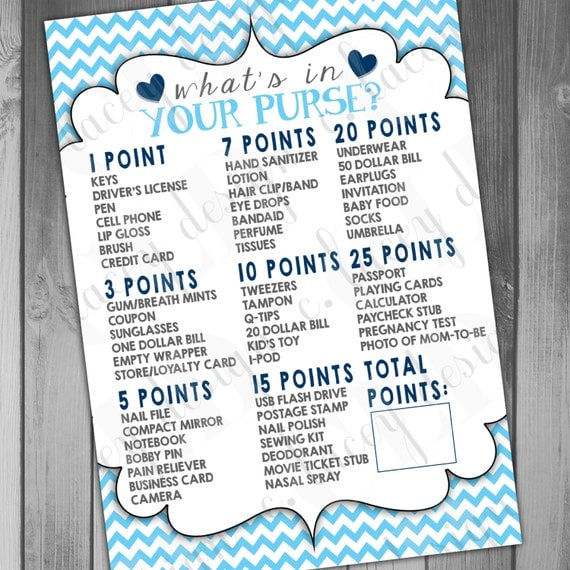 Games For A Baby Shower For A Boy