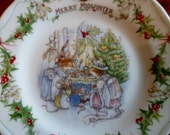 Brambly Hedge Merry Midwinter Tea plate - SECOND QUALITY - Royal Doulton
