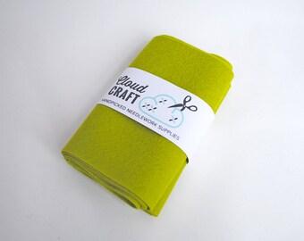 100% Wool Felt Roll - 12x90cm - Kermit