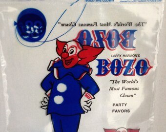 Bozo The Clown - Printers Proof Bozo The Clown Party Favors Bags