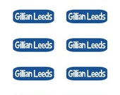 Clothing  Labels-Perfect for Camp-Perfect for Lunch Boxes -Back to School - Great for Camp