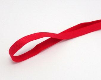 6 Yards x Red Garter Belt Strap Lingerie Sewing Elastic 10mm Wide Corset Making Supplies