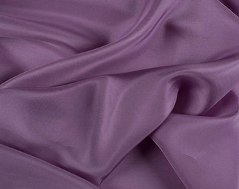 "45"" Wide 100% Silk Habotai Lavender-Wholesale by the Yard"