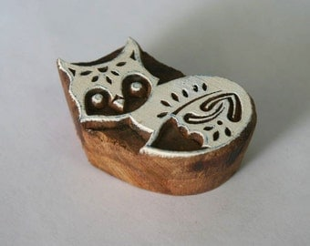 Fox Stamp - Indian Hand Carved Wood Block