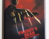Nightmare on Elm Street Part 6 Movie Poster Fridge Magnet
