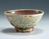 Shigaraki, anagama, ten-day anagama wood firing, with natural ash deposits Shiiho Kanzaki sake cup. gui-77