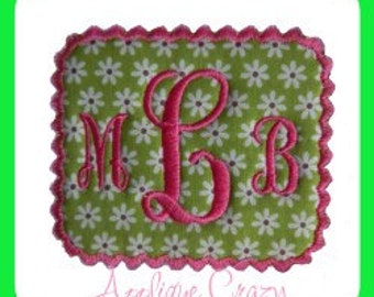 Fancy Frame Embroidery file