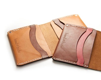 Medium Leather Wallet / Leather Billfold / Premium Italian Leather / Men's wallet / gift for him