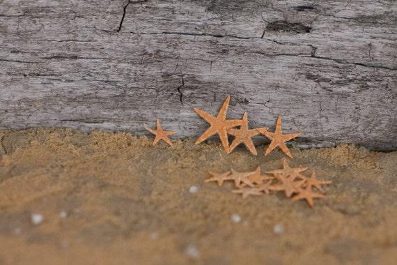 Beach Decor Small Starfish 15 starfish for Nautical Decor, Beach Weddings or Crafts