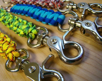 Paracord Keychain with Snaphook - Choose Your Color