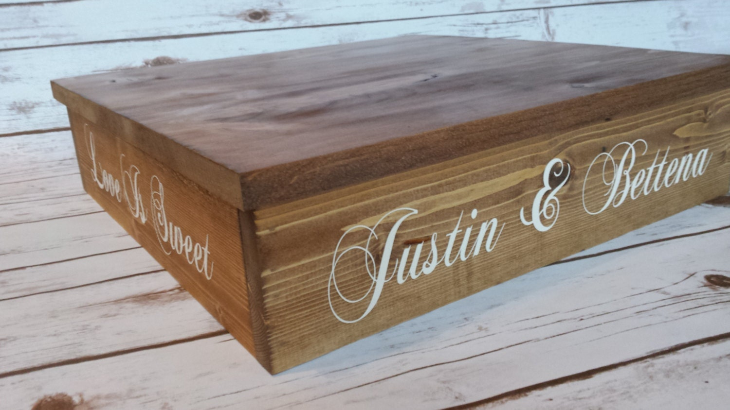 Rustic Wedding Wood Cake Stand: Rustic Wedding Rustic Cake Stand Cupcake Stand Wood Cake