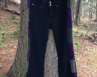 Women's Purply Patchy Pants ON SALE