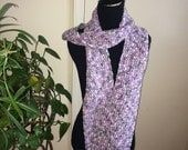 CLEARANCE - Double Crochet Scarf - Easter Basket Ombre