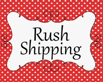 Upgrade to Express Shipping - Shirt/Bib/Burp Cloth or Diaper Cover Order ONLY