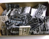 160 Quantity Lot of Audio Cassette Tapes For Upcycle Craft Projects (Free Shipping)