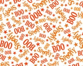 Casper, Creepy Cute by Quilting Treasures, Halloween Fabric, Ghost Fabric, Casper the Friendly Ghost, Boo, Spooky, 10190