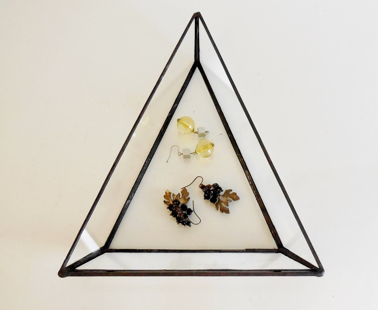 glass jewelry tray images