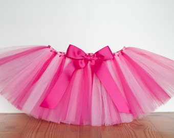 30th birthday tutu 'Anita' tutu hot pink light pink tutu 21st birthday women's adult tutu, teen tutu, juniors, sizes costume tutu