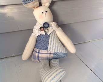 Vintage Quilt Bunny