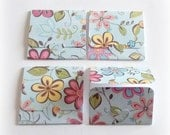 blank mini note cards tri-fold mini card happy all over floral handmade mini cards set of 8 lunch box note packaging card thank you notes