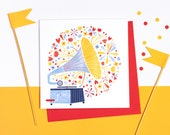 Sounds of Spring! Set of 5 cards