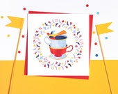 My Cup of Tea! Set of 5 cards