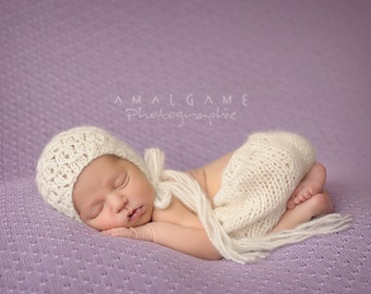 baby knit kit short and hat