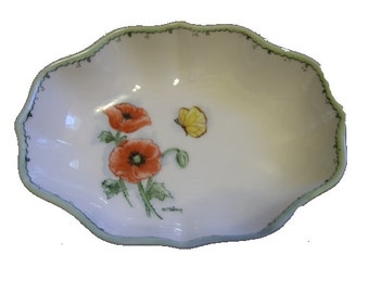 Very Dainty China Dish with a cute floral design.