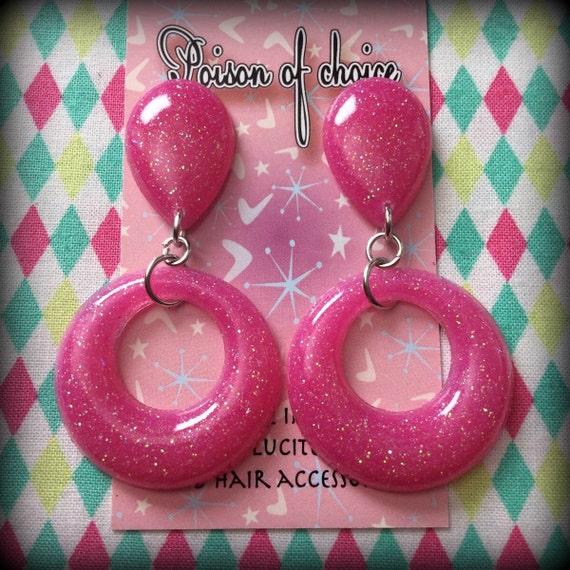 SALE Pink hoops