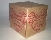 With Love - Christmas Gift Box , Made to Order.