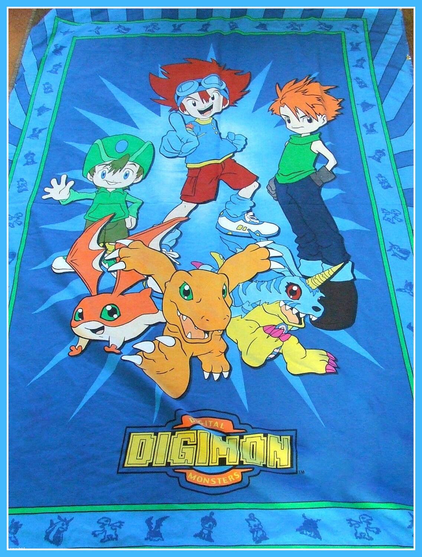 Digimon Twin Bedding