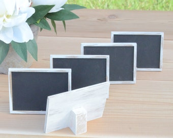 Rustic chalkboard signs, table numbers, wedding signs, rustic weddings- custom your colors