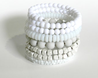 MeMoRy WiRe BraCeleT - Mix of plastic,wood