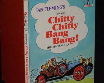 Ian Fleming's Story Of Chitty Chitty Bang Bang! The Magical Car by Al Perkins 1968 First Edition Dr Seuss Beginner Books Illust. by B Tobey