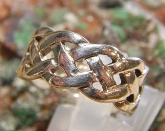 Vintage Sterling Silver Band Ring